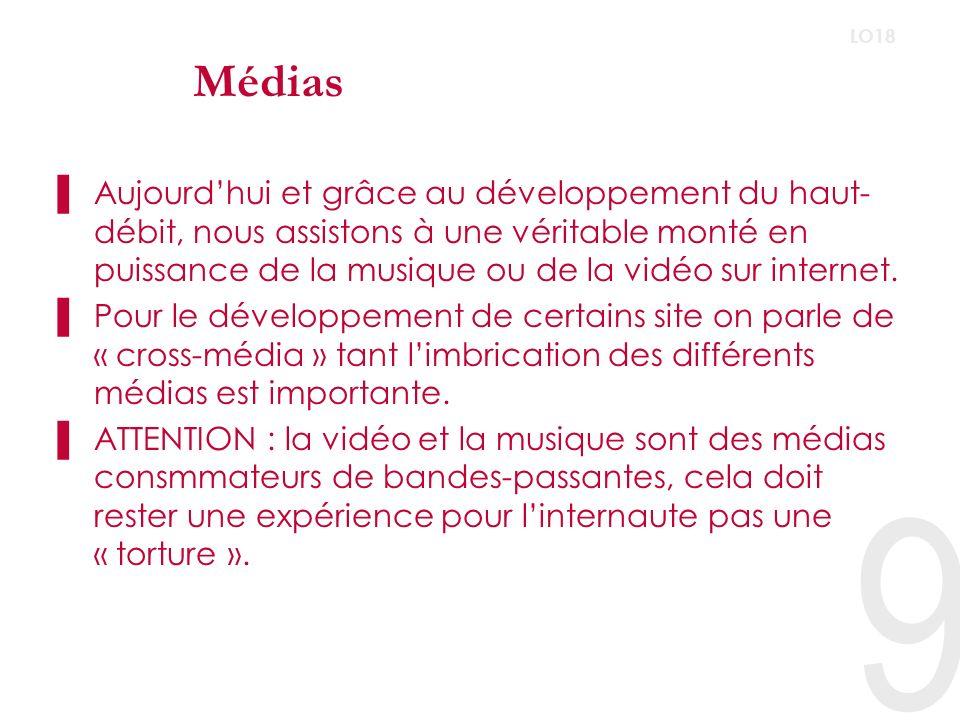 Médias LO18.