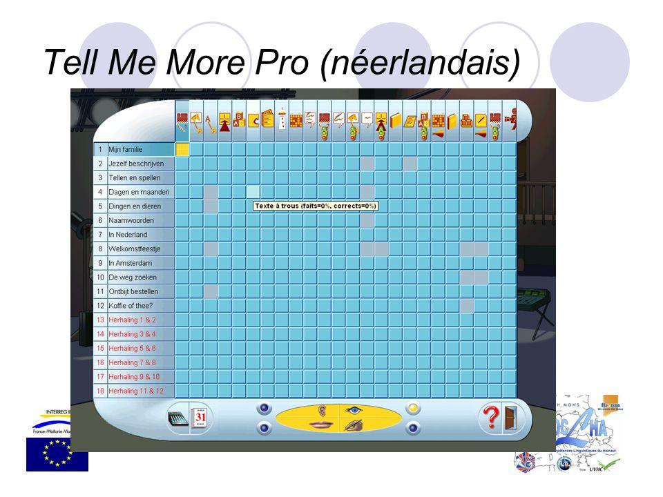 Tell Me More Pro (néerlandais)