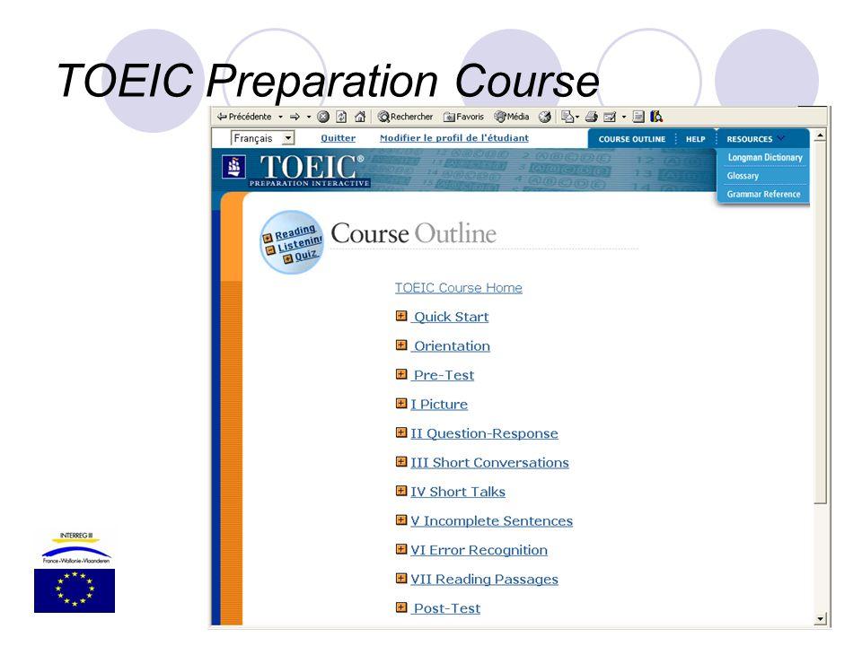 TOEIC Preparation Course