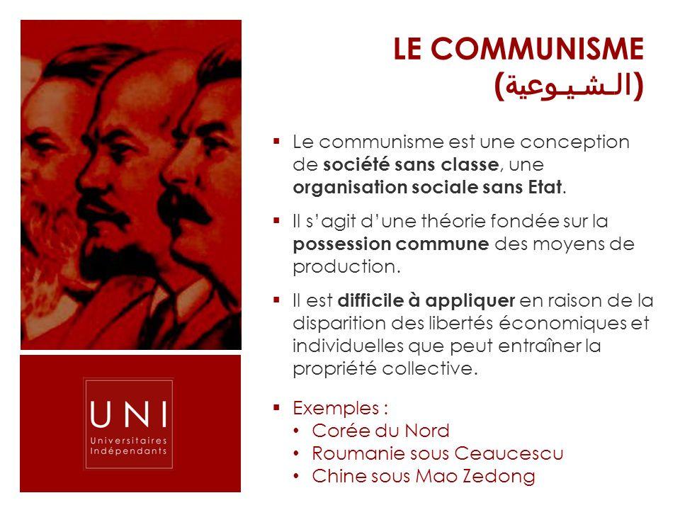 LE Communisme (الـشـيـوعية)