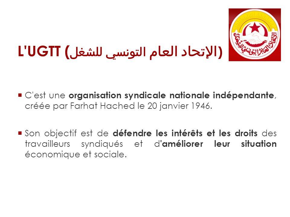 L UGTT (الإتحاد العام التونسي للشغل)