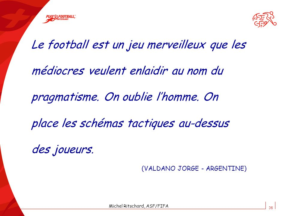 Michel Ritschard, ASF/FIFA