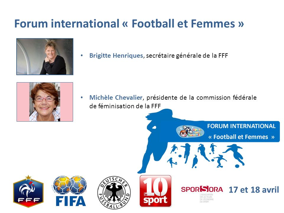 Forum international « Football et Femmes »