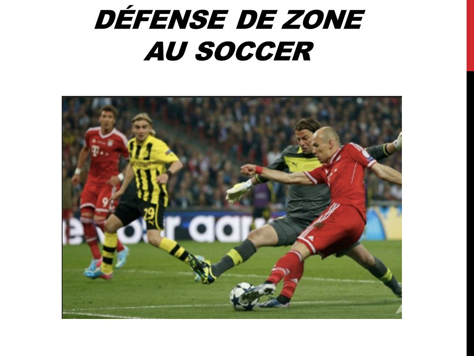 Défense de zone au soccer