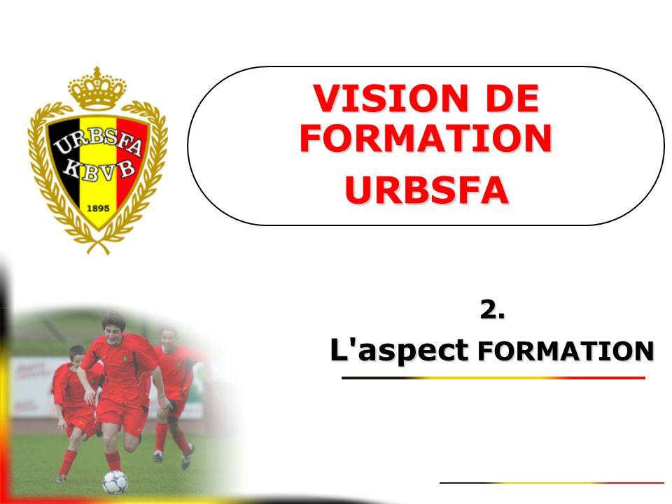 VISION DE FORMATION URBSFA