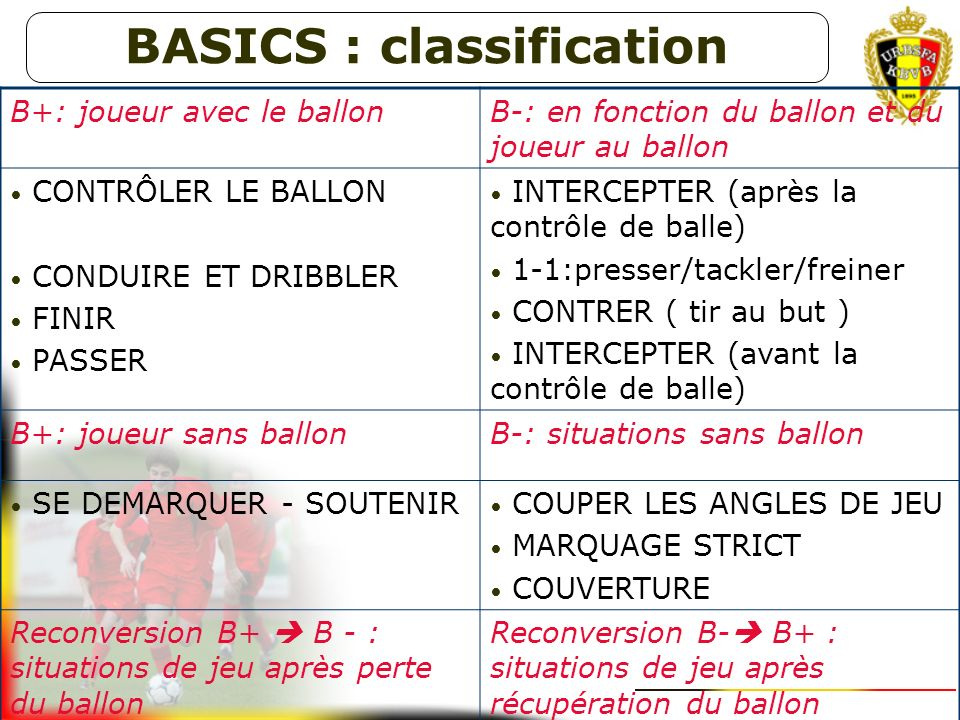 BASICS : classification