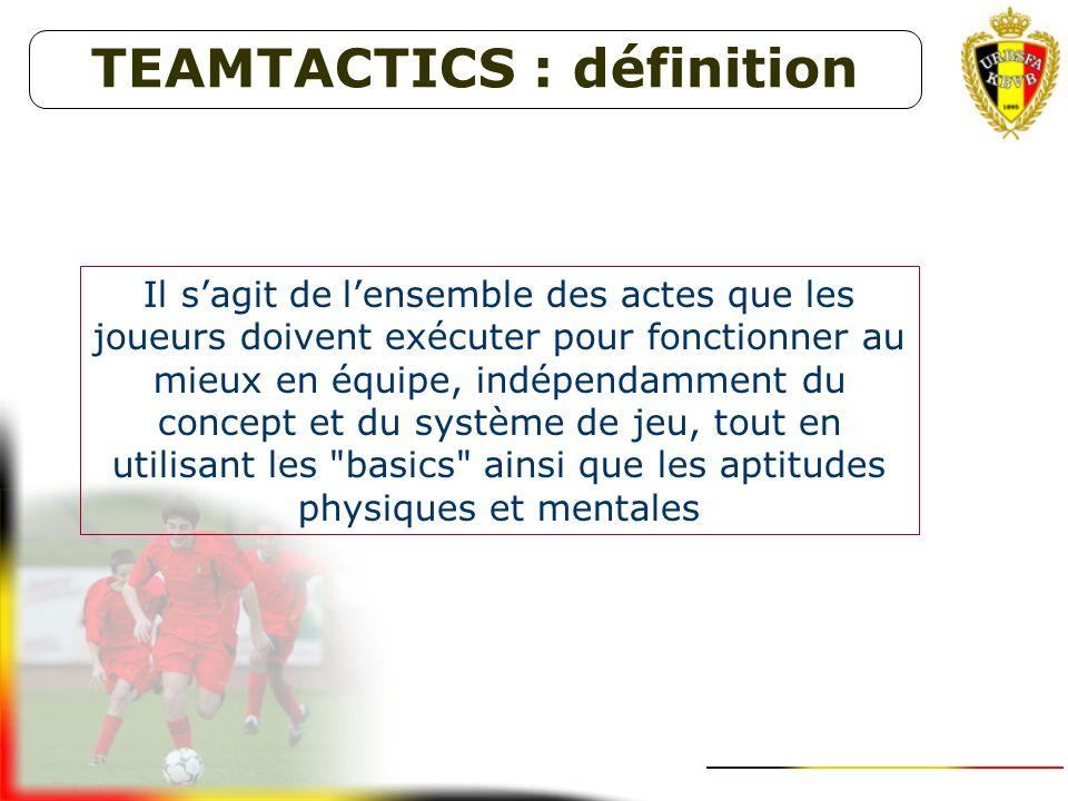TEAMTACTICS : définition