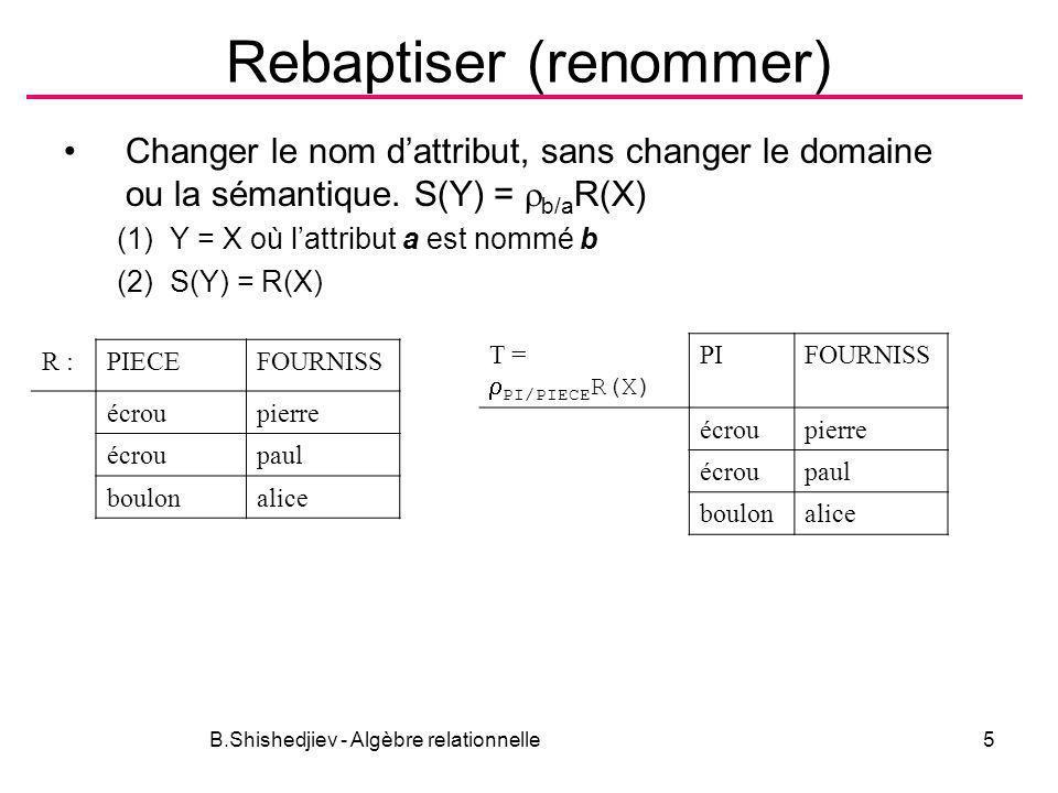 Rebaptiser (renommer)