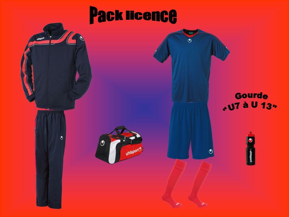 Pack licence Gourde U7 à U 13 U7 à U11
