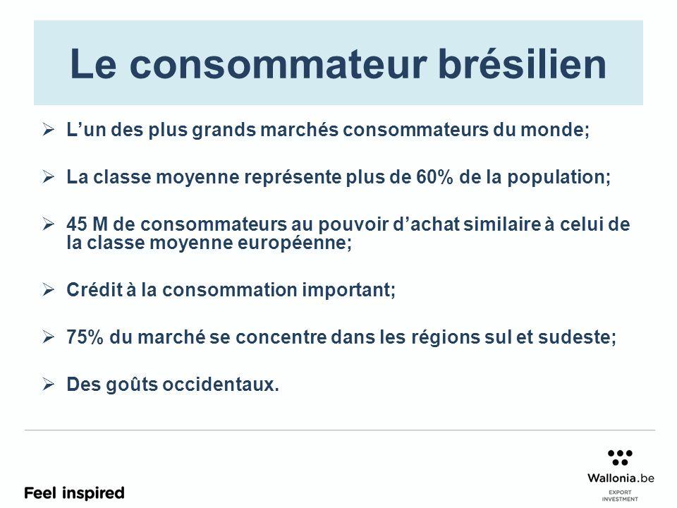 Le consommateur brésilien