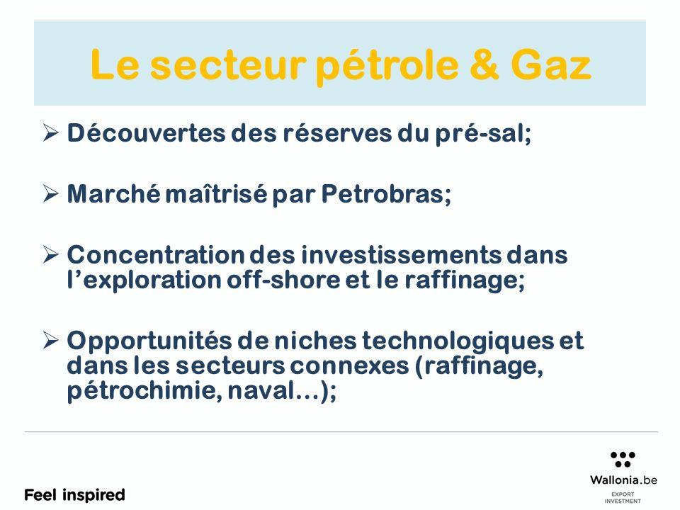 Le secteur pétrole & Gaz