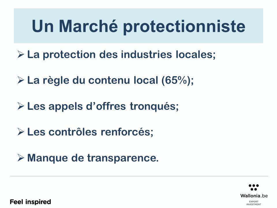 Un Marché protectionniste