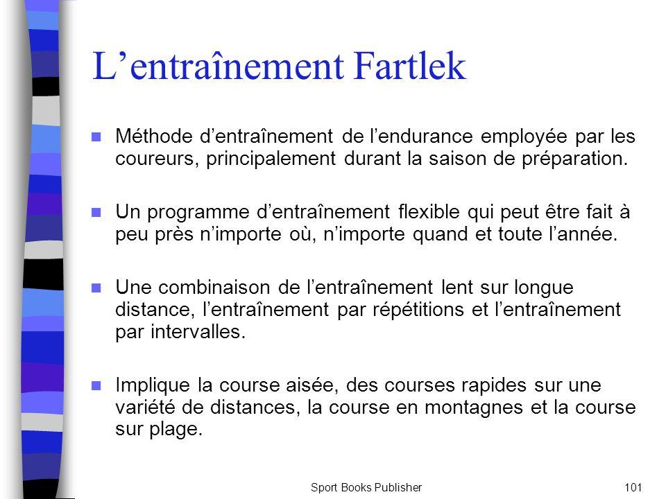 L'entraînement Fartlek