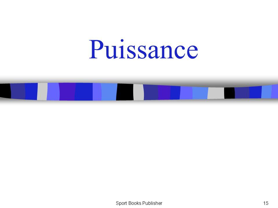 Puissance Sport Books Publisher