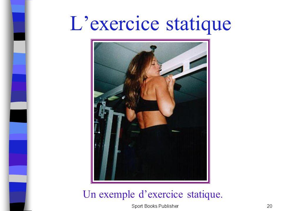 Un exemple d'exercice statique.