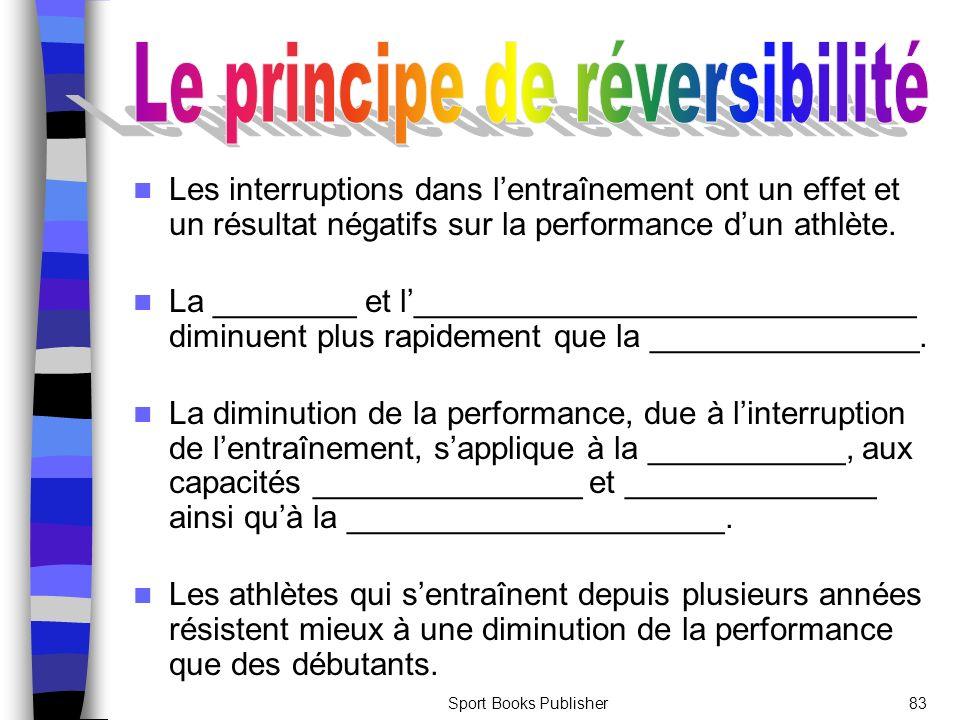 Le principe de réversibilité