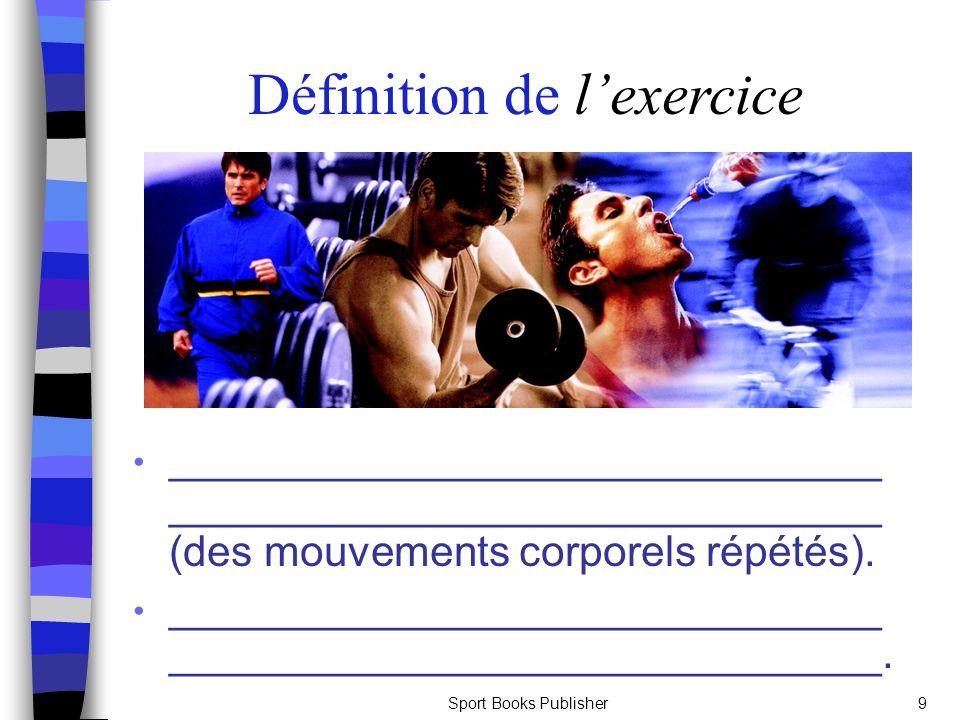 Définition de l'exercice