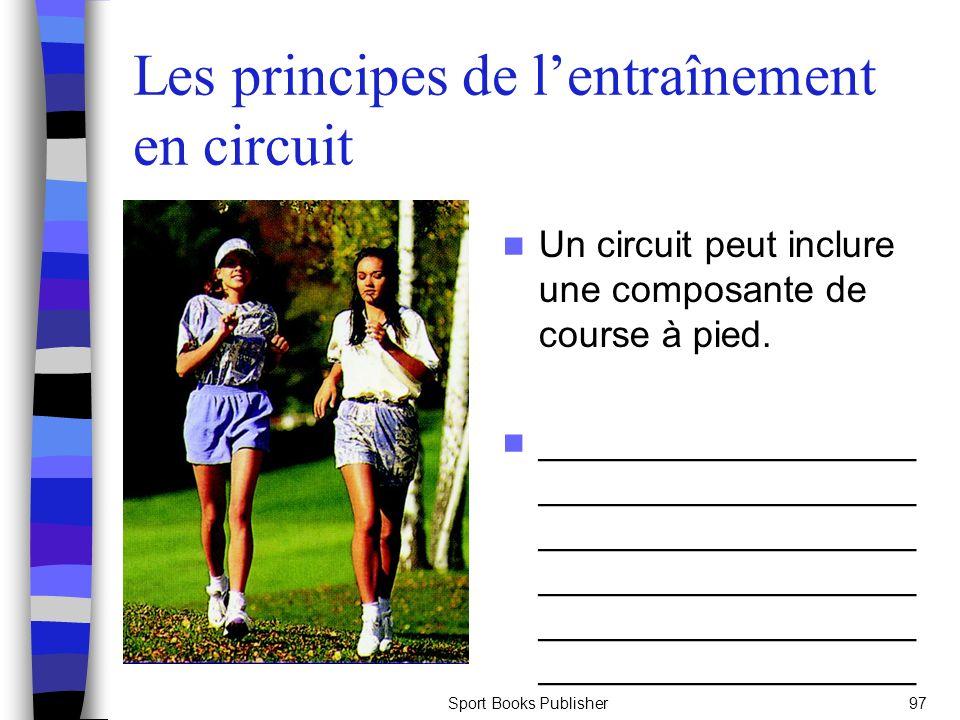 Les principes de l'entraînement en circuit