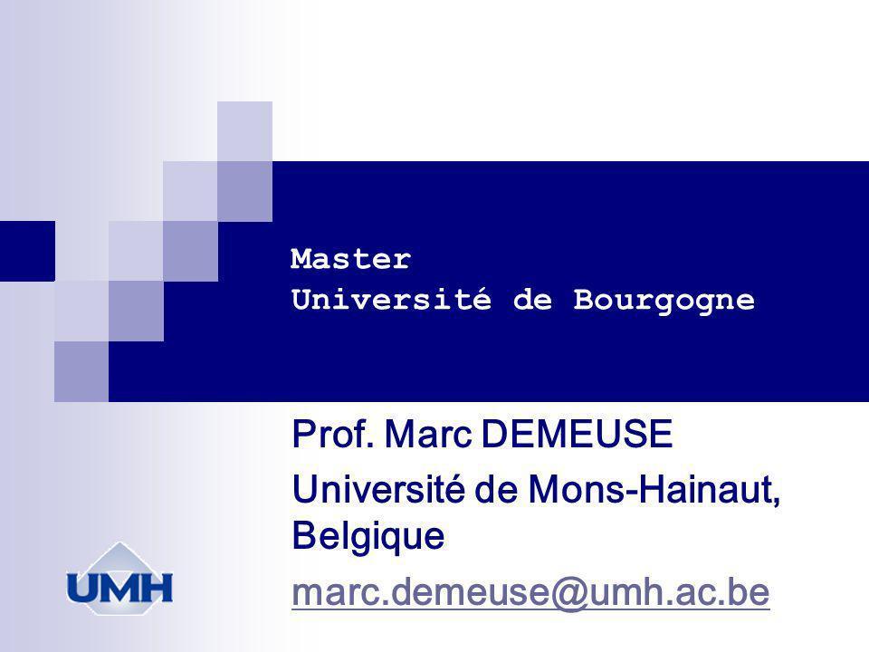 Master Université de Bourgogne