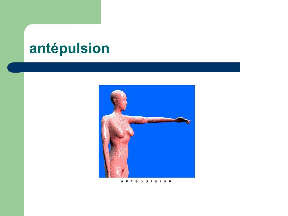 antépulsion
