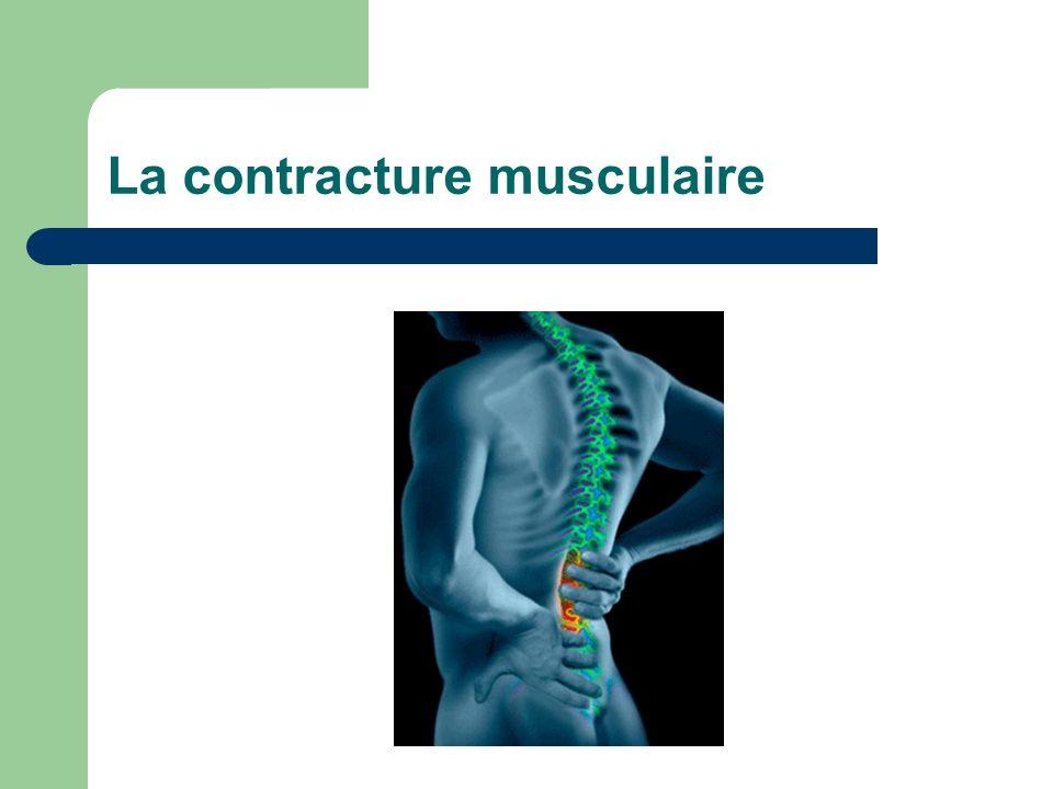 La contracture musculaire