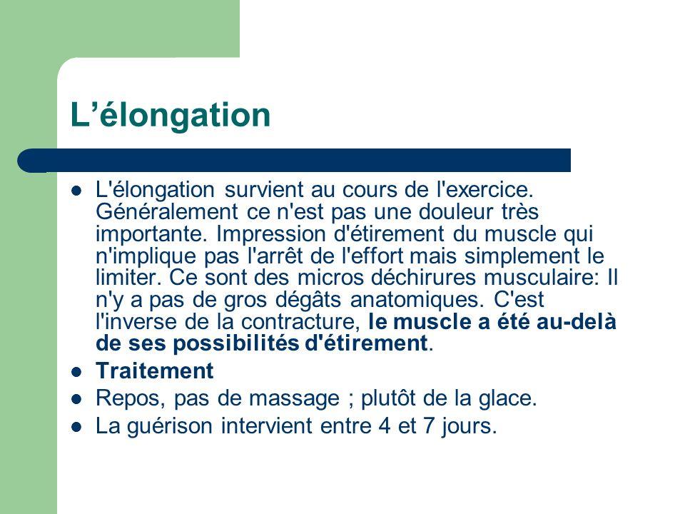 L'élongation