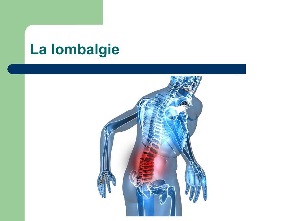 La lombalgie
