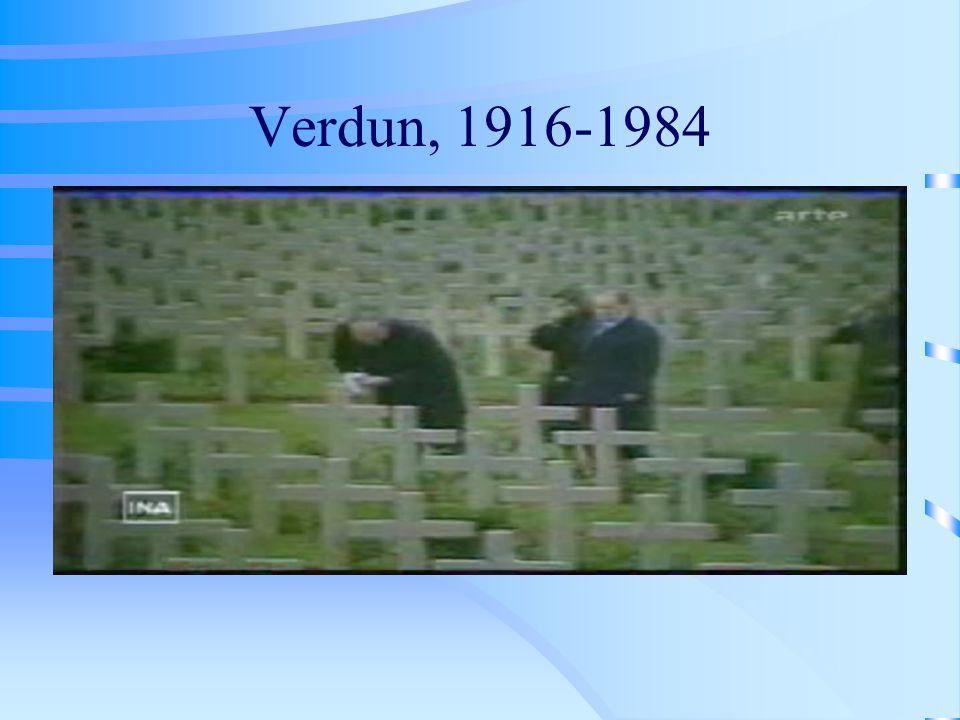 Verdun, 1916-1984