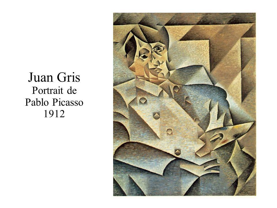 Juan Gris Portrait de Pablo Picasso 1912