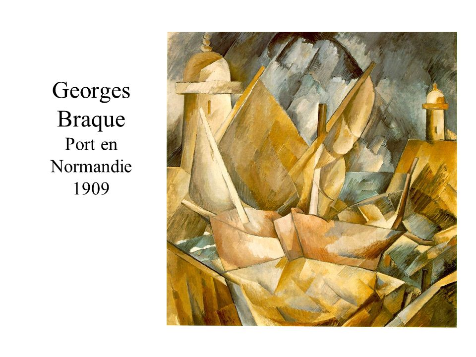 Georges Braque Port en Normandie 1909