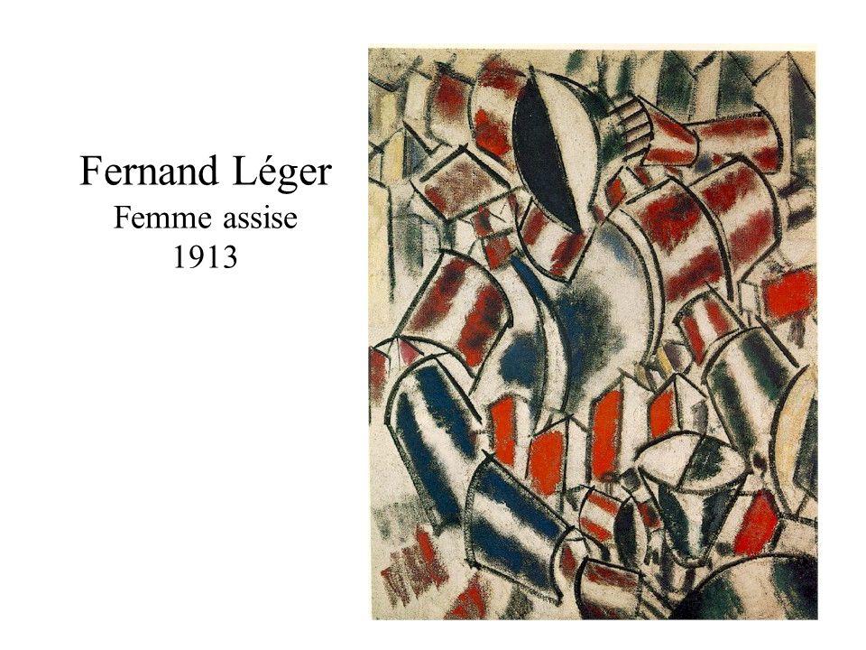 Fernand Léger Femme assise 1913