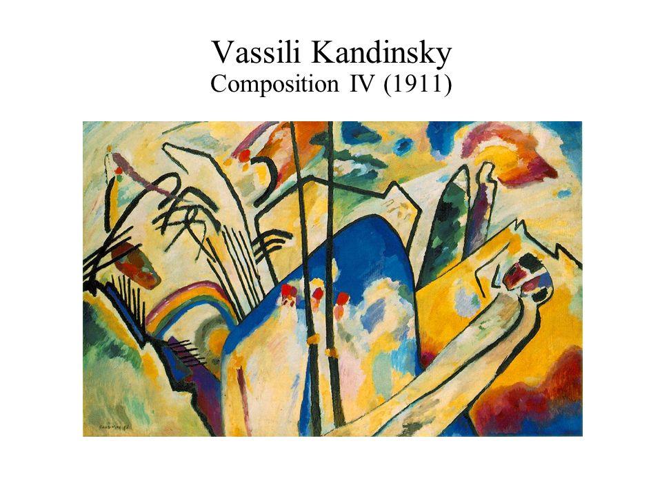 Vassili Kandinsky Composition IV (1911)