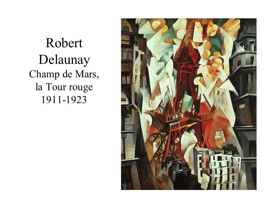 Robert Delaunay Champ de Mars, la Tour rouge 1911-1923