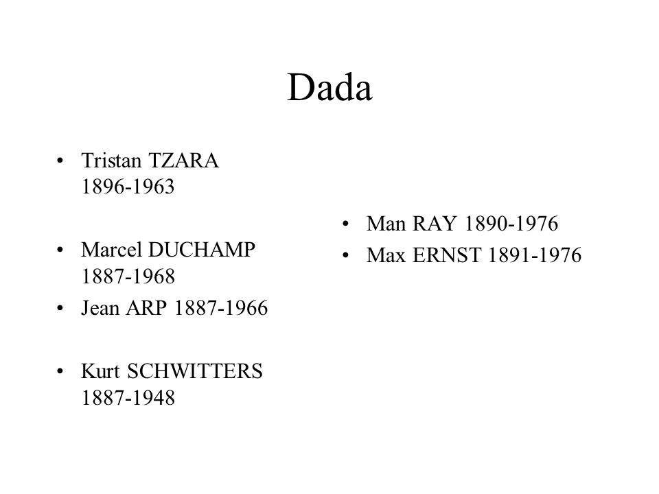 Dada Tristan TZARA 1896-1963 Man RAY 1890-1976