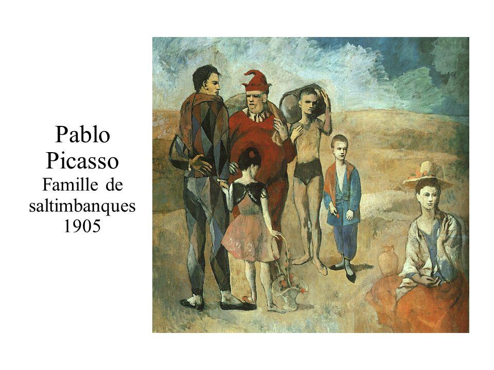 Pablo Picasso Famille de saltimbanques 1905