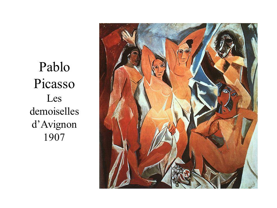 Pablo Picasso Les demoiselles d'Avignon 1907