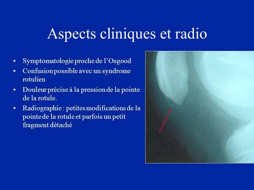 Aspects cliniques et radio