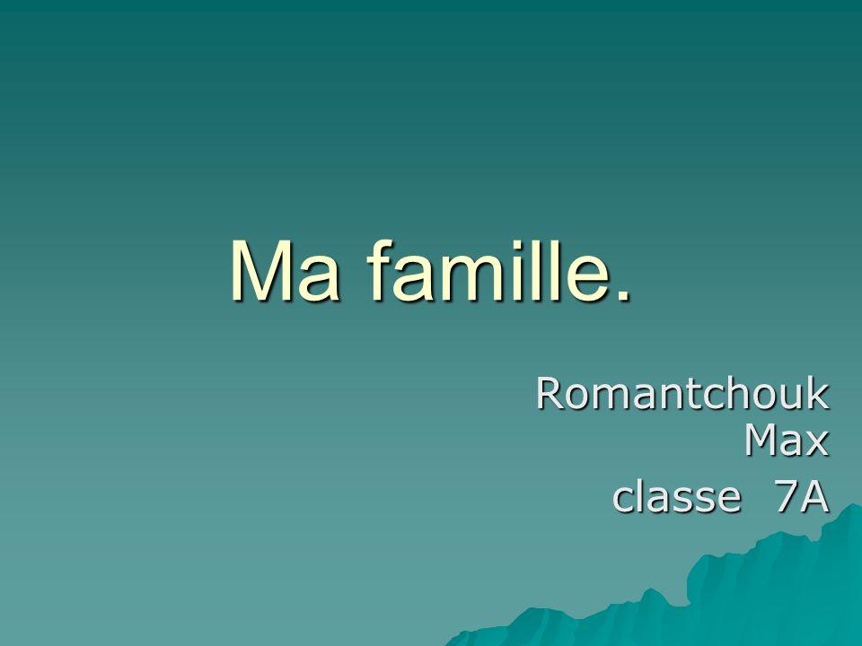 Romantchouk Max classe 7A