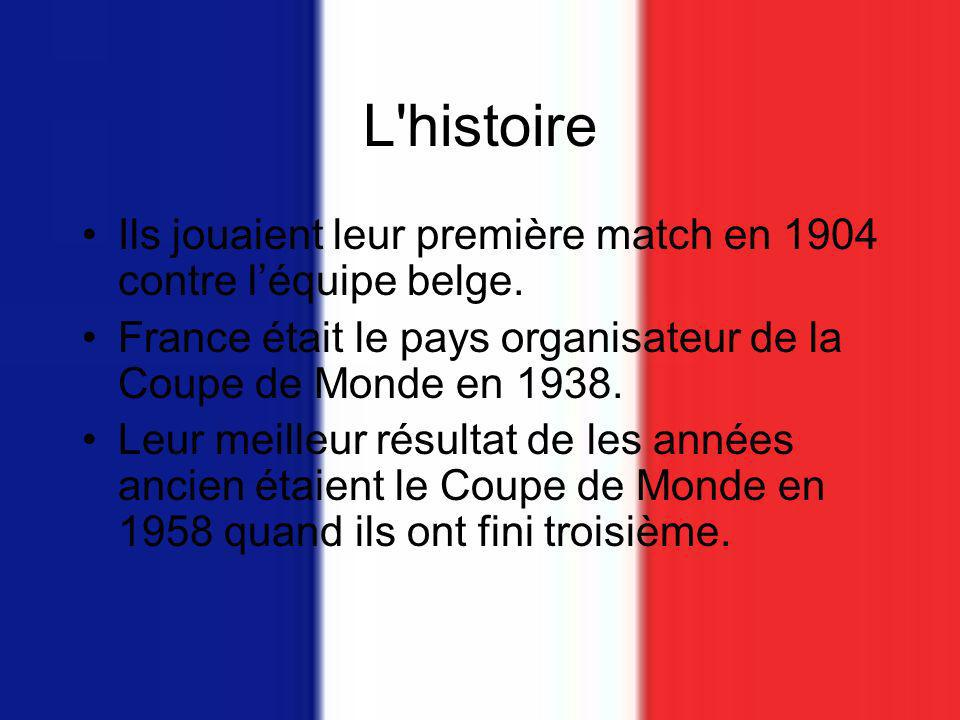 L quipe de france de football ppt video online t l charger - Resultat match coupe de france ...