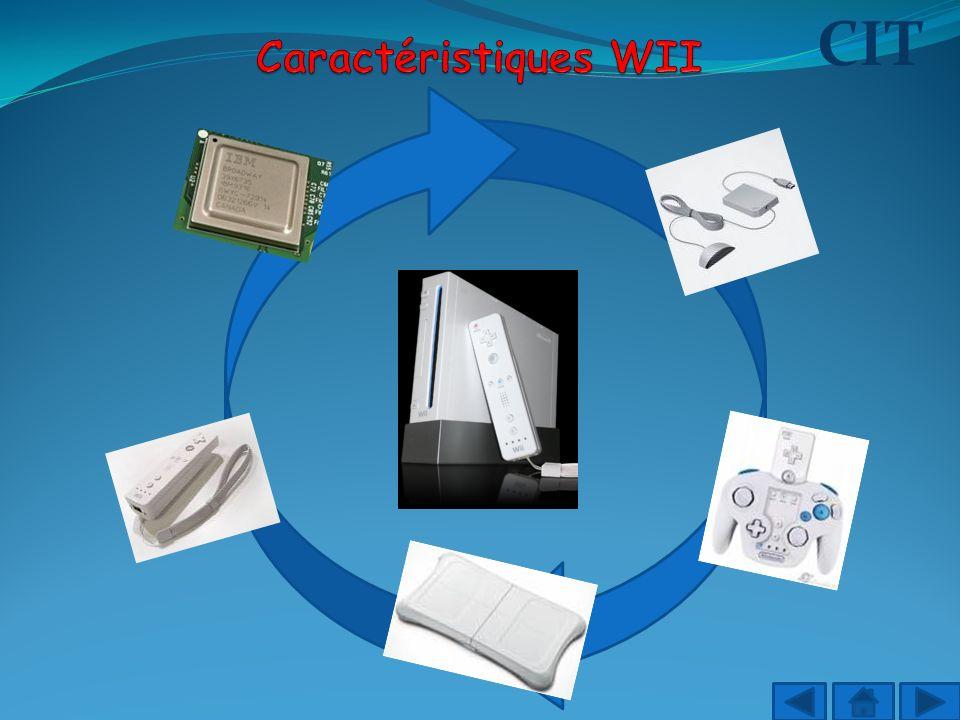 Caractéristiques WII CIT