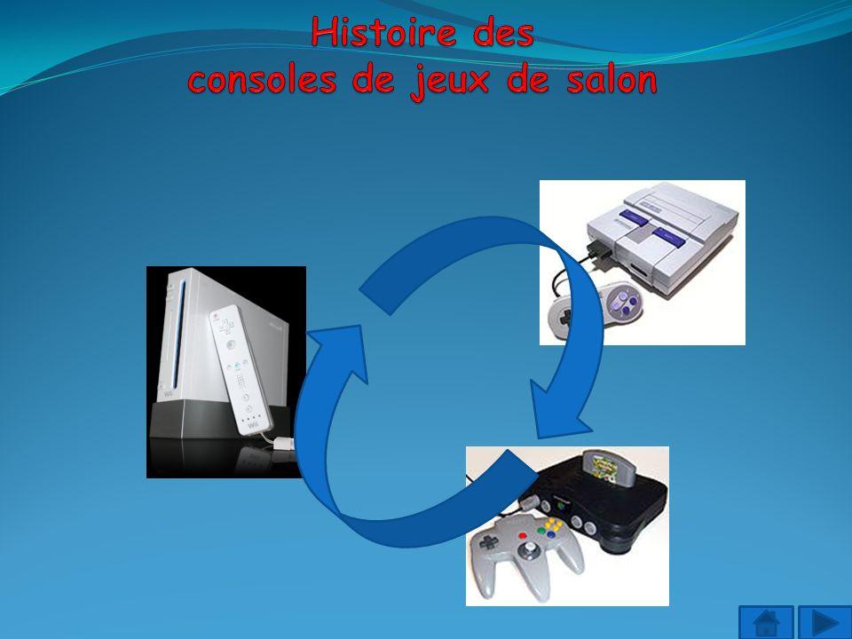Histoire des consoles de jeux de salon