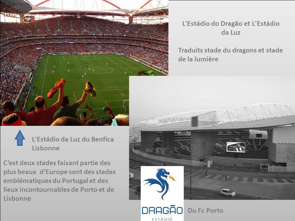 L Estádio do Dragão et L Estádio da Luz