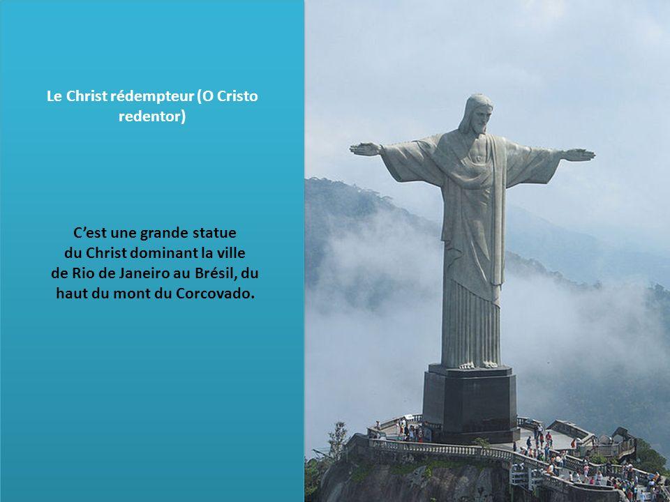 Le Christ rédempteur (O Cristo redentor)