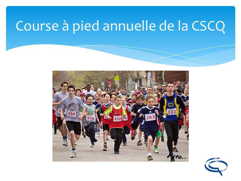Course à pied annuelle de la CSCQ