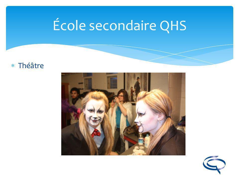 École secondaire QHS Théâtre