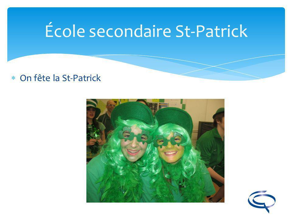 École secondaire St-Patrick