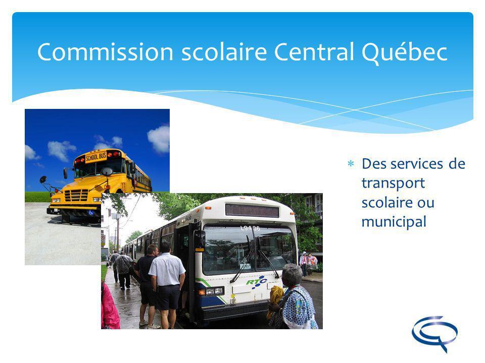 Commission scolaire Central Québec
