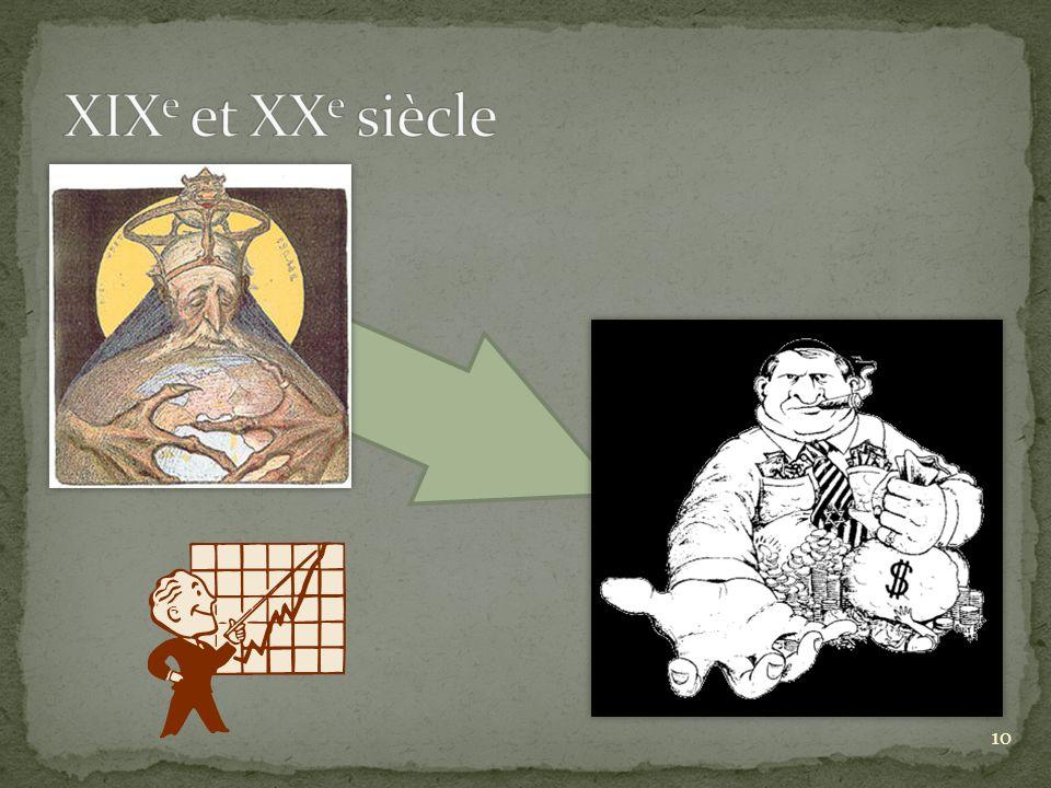XIXe et XXe siècle