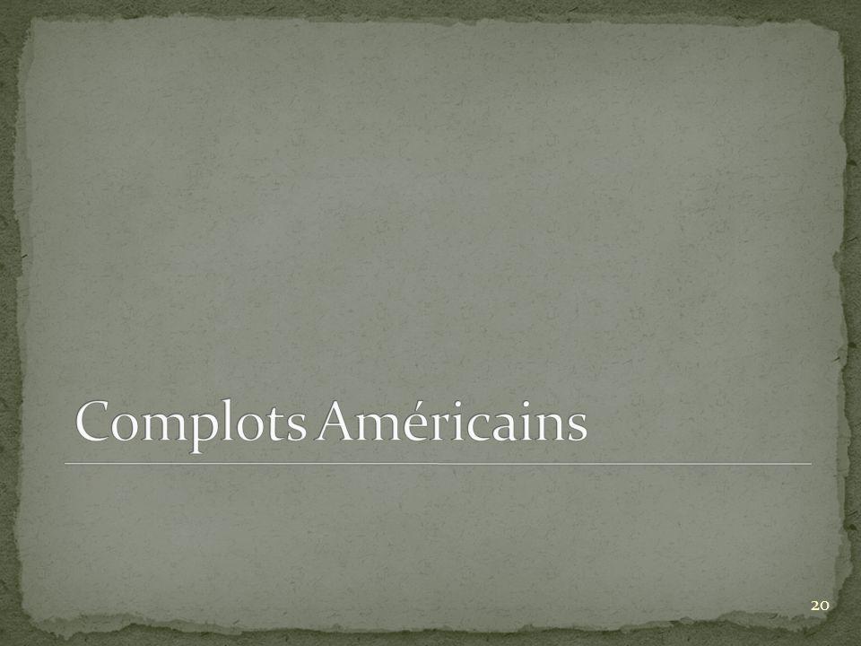 Complots Américains