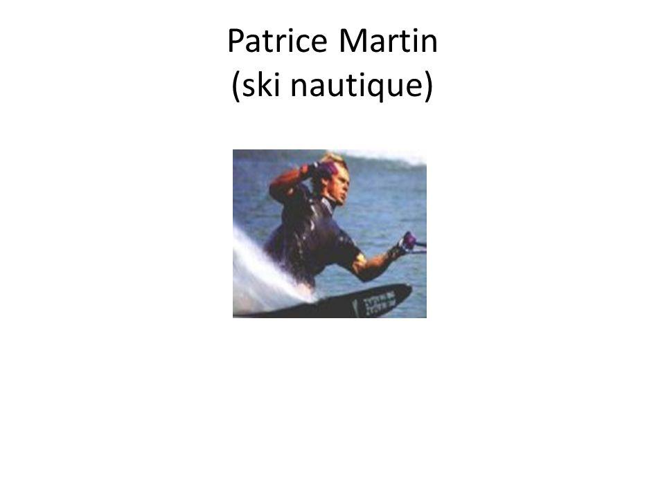 Patrice Martin (ski nautique)